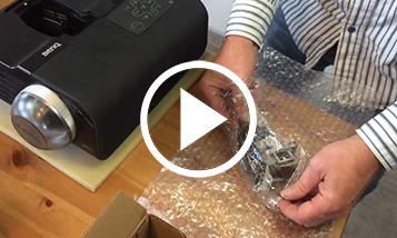 Vidéo sur le changement BenQ