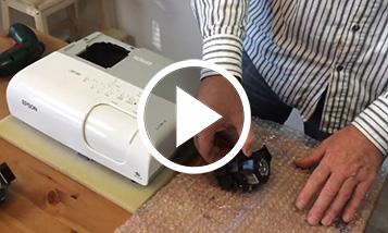 Vidéo sur le changement Epson