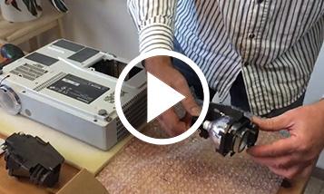 Vidéo sur le changement Panasonic