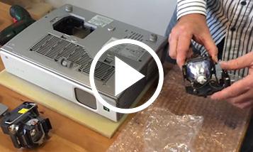Vidéo sur le changement Sony